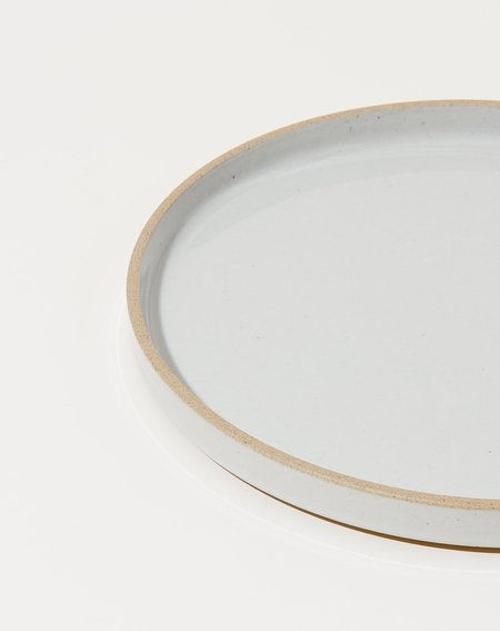 Hasami Porcelain Large Plate - Gloss Grey