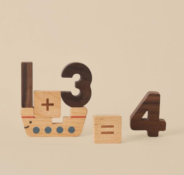 Kids Oioiooi Numbers Play Blocks