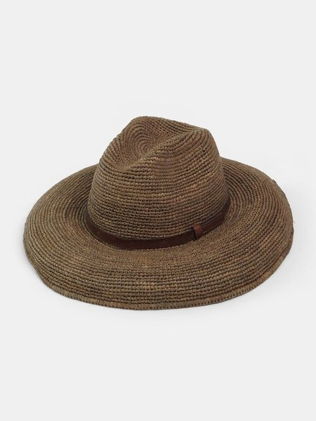 ibeliv safari hat - dark tea