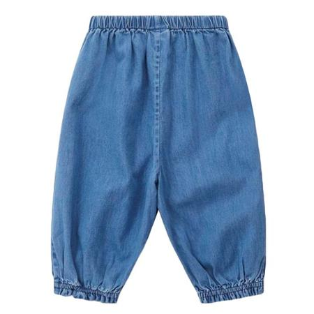 Kids Bonton Gauffre Pants - Chambray Blue