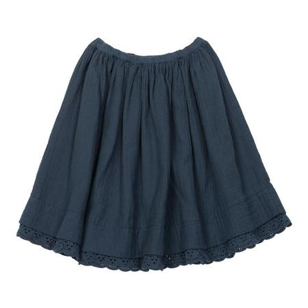 Kids Bonton Papillon Skirt - Shark Blue