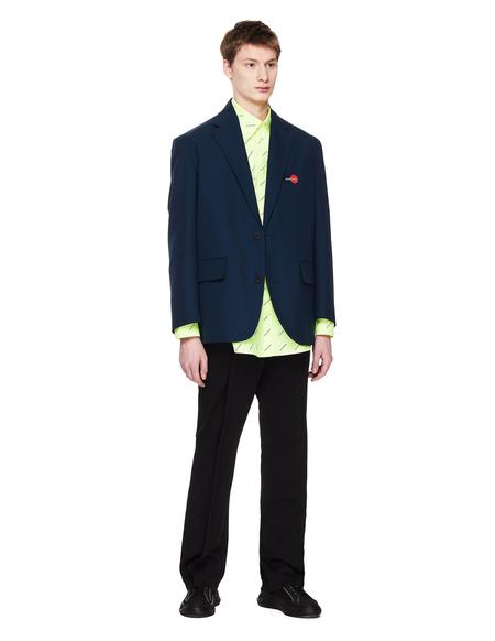 Balenciaga Uniform Jacket - Navy Blue