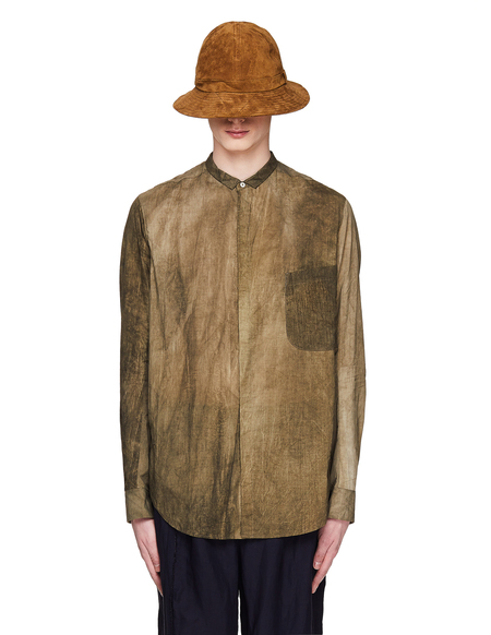 Ziggy Chen Green Cotton Shirt