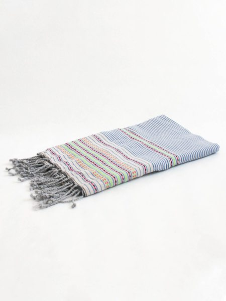 FOCAL POINT HOME Fouta Towel - Capri