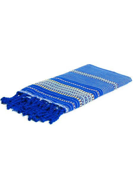 FOCAL POINT HOME Fouta Towel - Peacock
