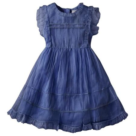 Kids Nellystella Flora Dress - Venture Violet Purple