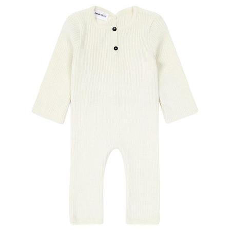 Kids Pequeno Tocon Long Sleeved Jumpsuit - Cream