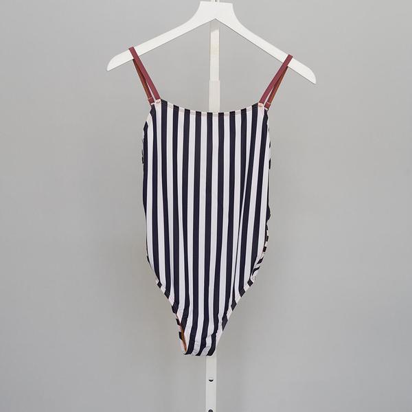 Xirena Harlow Stripe One Piece - BLUE TEAM