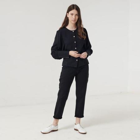 Polder Woman Berta Long Sleeved Shirt - Black