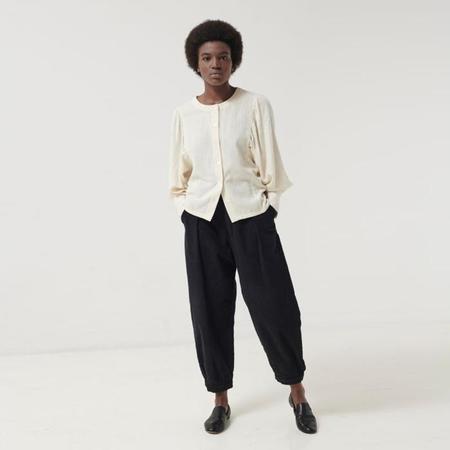 Polder Woman Berta Long Sleeved Shirt - Off White
