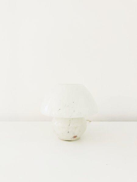 Vintage ORDREGO MINI MUSHROOM LAMP - White