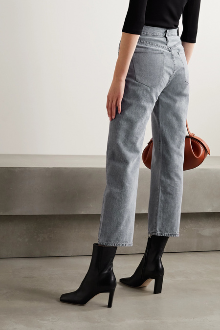 Goldsign The Relaxed Straight Mid Rise Straight Leg Pant - Milton