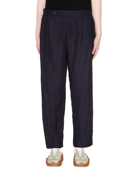 Ziggy Chen Linen Trousers - Blue