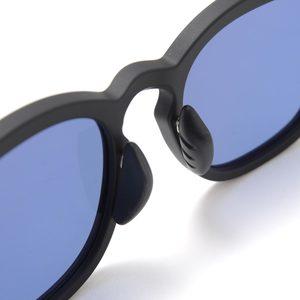 F.C. Real Bristol Square Sunglasses - Matte Black / Blue