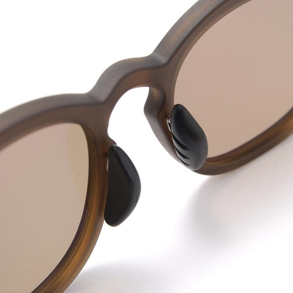 F.C. Real Bristol Square Sunglasses - Matte Light Brown/Brown