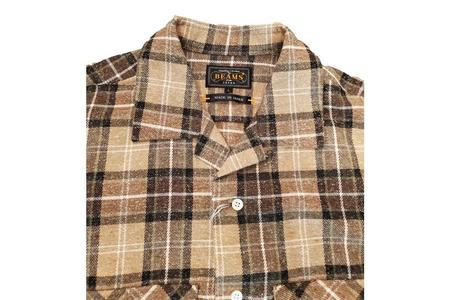 Beams Plus Jazz Nepcheck Over Shirt