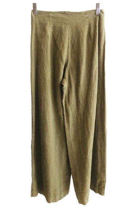Esby Lucia Linen Pants - Cactus