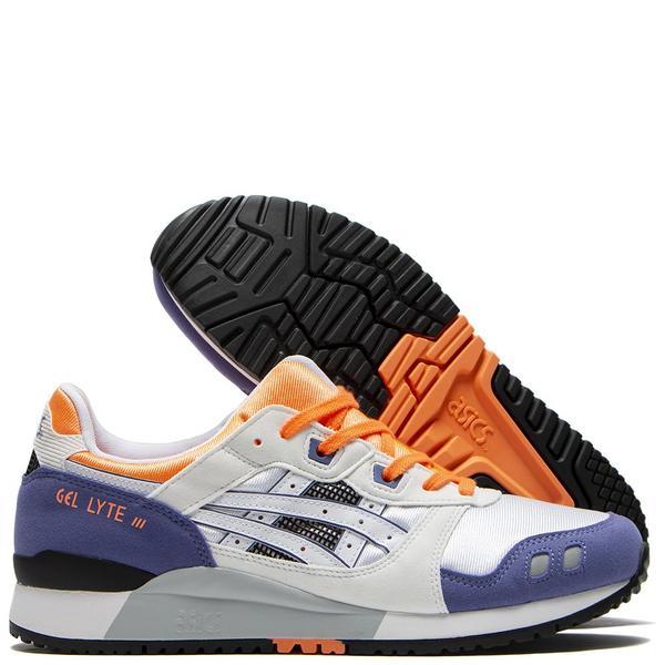 ASICS Gel-Lyte III OG Sneaker - White/Orange