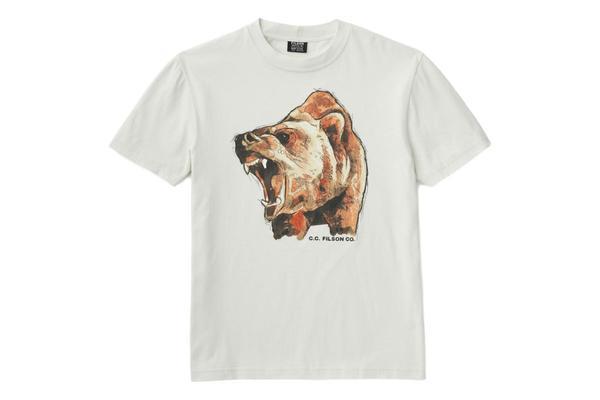 Filson S/S Lightweight Outfitter T-shirt - Sail White