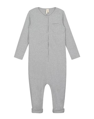 KIDS Gray Label Organic Playsuit - Grey