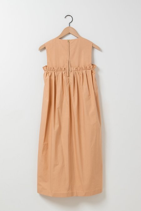Odeeh Sleeveless Smocked Dress