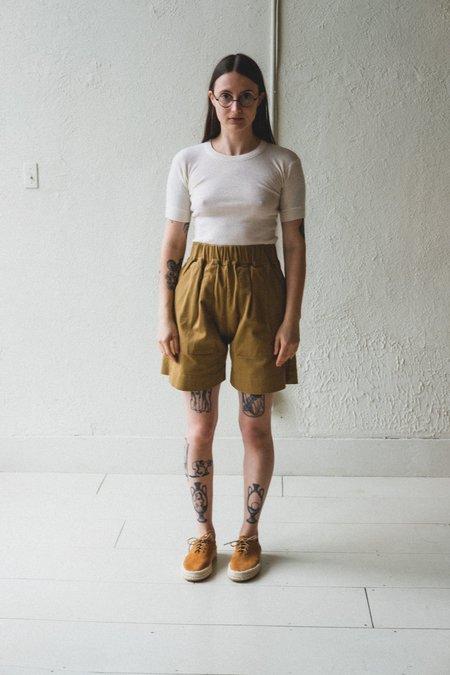 Micaela Greg Utility Short - Golden