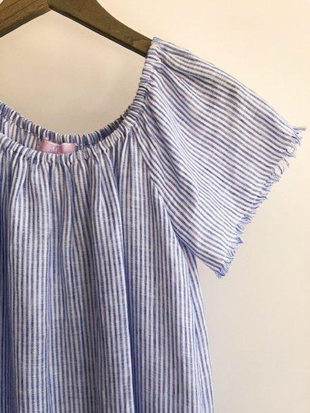 [Pre-loved] Michelle Farmer Striped Dress - Blue/White