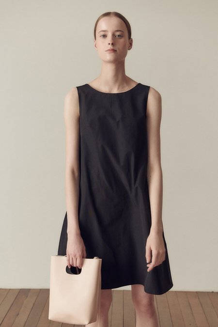 Hidden Forest Market Ceremony Mini Dress - Black