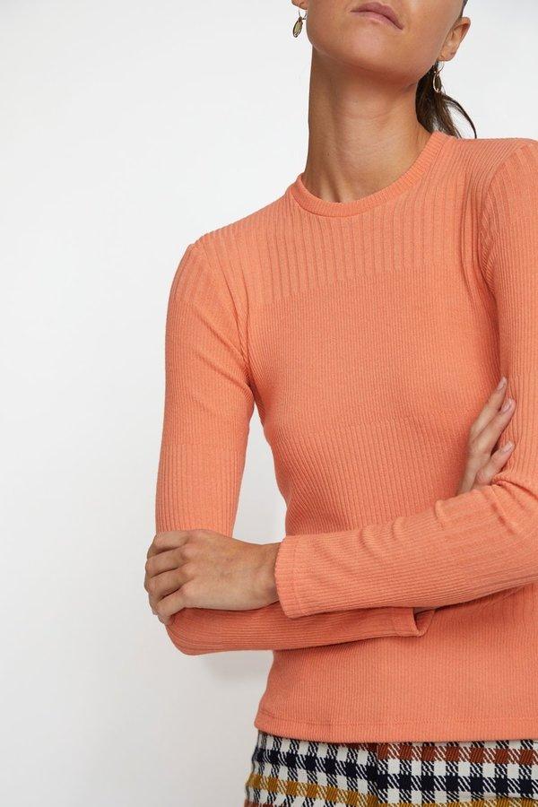 No.6 Stellan Crewneck Knit - Papaya