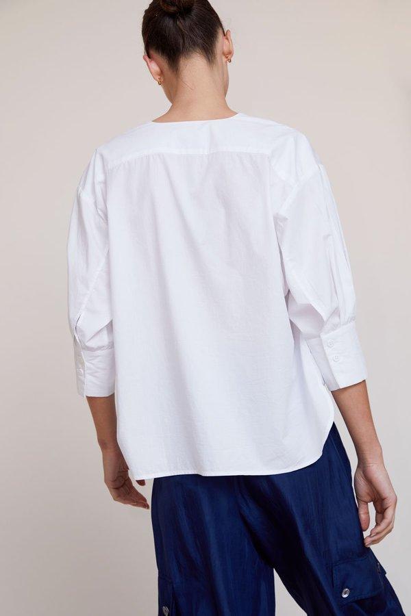 No.6 Turin Blouse - white