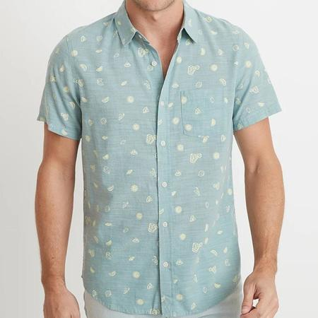 Marine Layer Poole Button Down - Cocktail Print