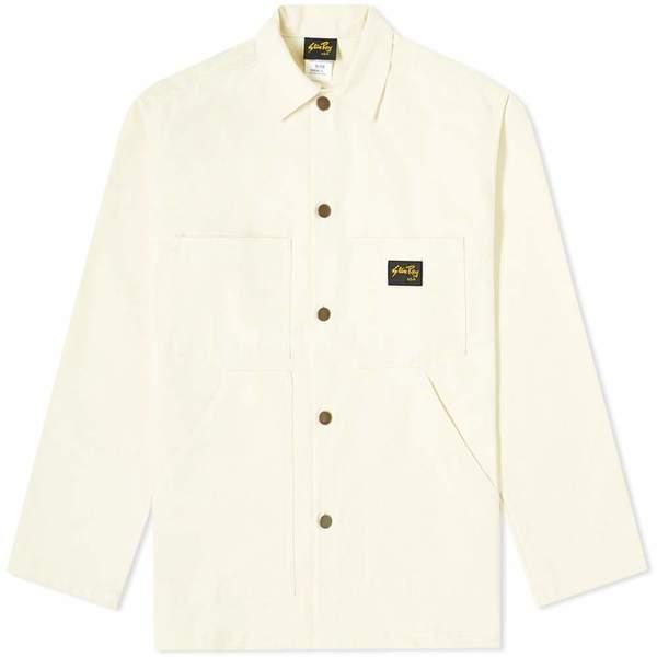 Stan Ray shop jacket - natural drill
