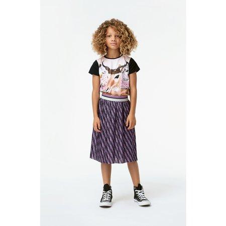 kids molo bailini skirt - manga stripe