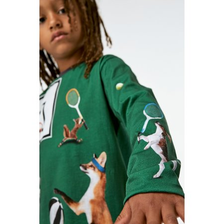 kids molo reif t shirt with ball players