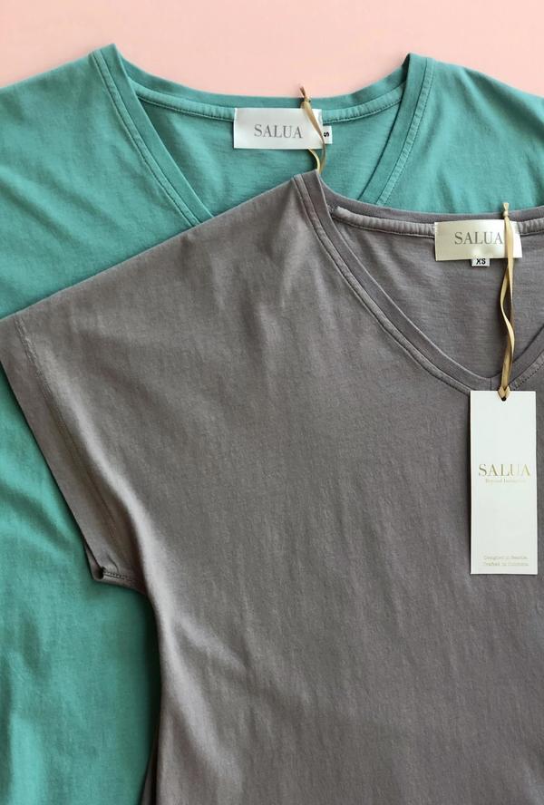 Salua Atelier Lingerie Cap Sleeve Nightgown
