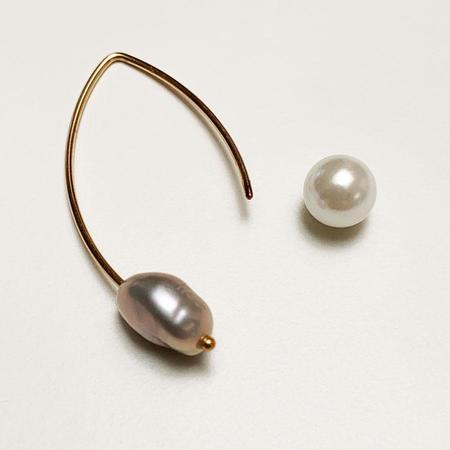 Tilla Earth Wired Pierce Earrings - 14K Gold