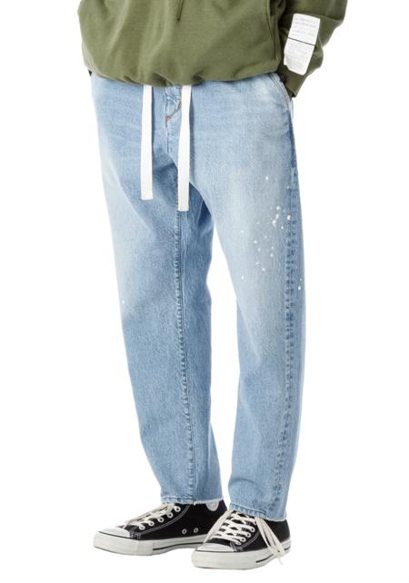 Sandinista MFG Easy Fit Tapered Denim Pants - Damaged