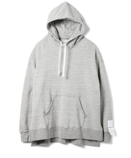 Sandinista MFG Side Slit Hooded Sweatshirts - Heather Gray