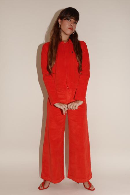 Sugarhigh Lovestoned Postal Jacket - Red