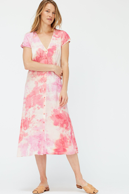 Lacausa Melody Dress - Raspberry Wash