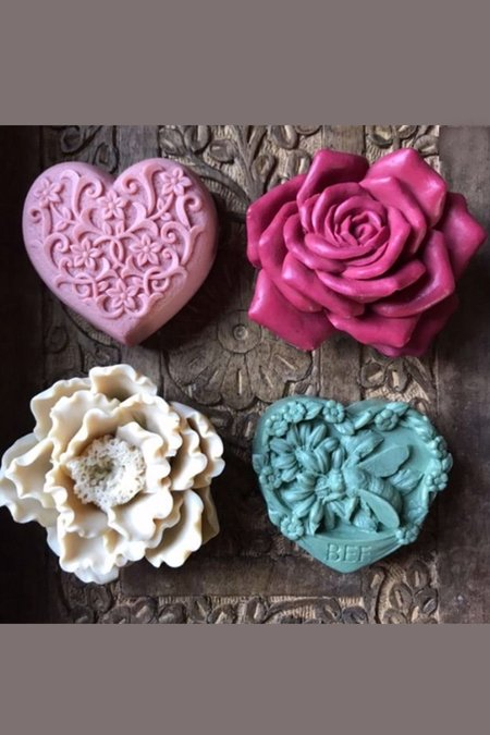 In The Garden 4-Set Gift Soap Collection