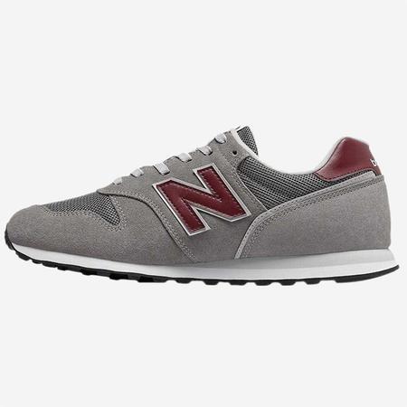 New Balance Trainer - Grey/Burgundy