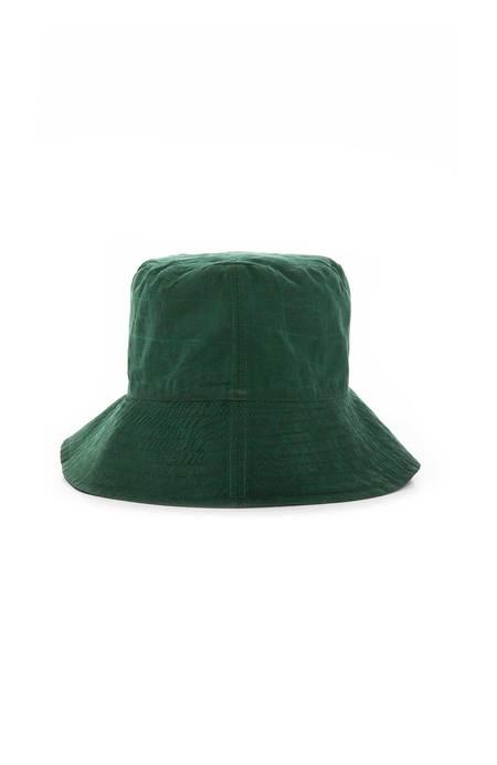 ZIRAN Reversible Bucket Hat - GREEN TURTLE/BLUE SNAKE