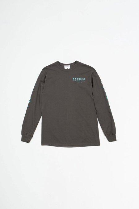 Tacoma Fuji Records Tokyo running company T-Shirt - charcoal