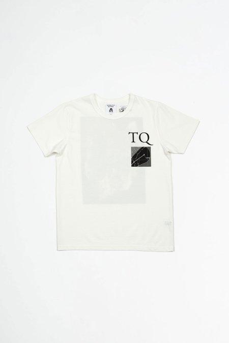 Tacoma Fuji Records Tropisches Quartett t-shirt - white