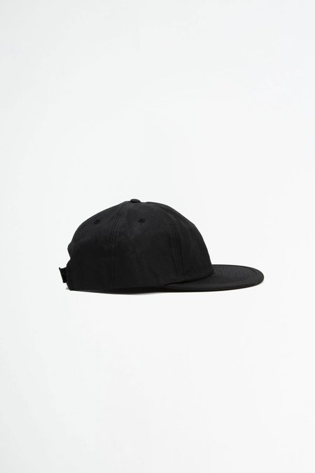 Headwraps Wax six panel cap - black