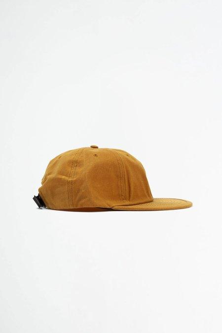 Headwraps Wax six panel cap - mustard