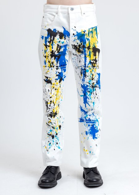 Études Studio Keith Haring Denim Pants - White