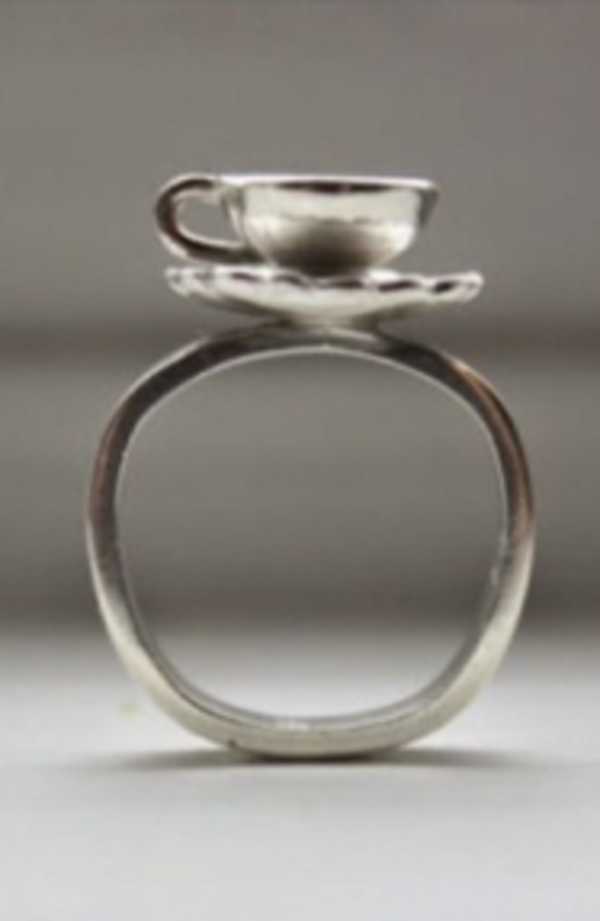 Sarah A Sears Teacup Ring Garmentory