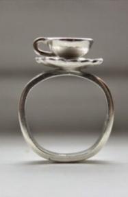 Sarah A. Sears Teacup Ring